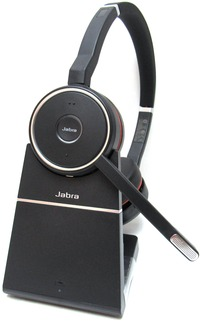 Jabra Evolve 75 Ms Headset Open Box Computer Phone Headsets