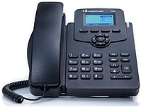 AudioCodes 405HD IP Phone - Corded - Corded - Black - VoIP -