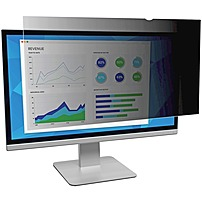 """3M Privacy Filter Black, Matte, Glossy - For 22"""" Widescreen Monitor -"""