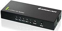 IOGEAR GHSP8424 4K Ultra HD 4-Port Splitter with HDMI - 4096 x 2160 -