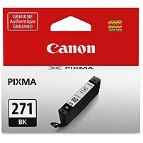 Canon CLI-271BK Original Ink Cartridge - Inkjet - Standard Yield -