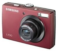 The L100 camera combines Samsung's Digital Image Stabilization and Intelligent Face Recognition Technology in a compact aluminum body