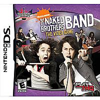THQ Inc. 785138361741 The Naked Brothers Band The Video Game for Nintendo DS