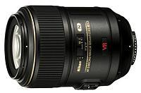 Nikon AF-S VR Micro-Nikkor 105mm f/2.8G IF-ED Macro Lens Black 2160