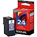 Lexmark 18C1524 No. 24 Color Inkjet Print Cartridge for Z1420 Printer