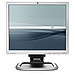 HP Compaq EM890AA LA1951g 19-inch LCD HD Monitor -1280 x 1024 - 5 ms - 1000:1 - 250 Nit - DVI/VGA - Silver, Carbonite Black