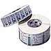 Zebra Trans Matte 2000 72290 4 x 2.5 inches Thermal Transfer Thermal Label - 2220 Label/Sheet, White