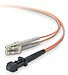 Belkin F2F40200-01M 3.3 Feet Fiber Optic Duplex Patch Cable - 50/125 micron