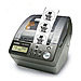 Brother P-Touch QL-650TD Label Direct Thermal Printer - Roll 2.44-inch - 300 dpi - 212.6 inches/minute - 1 Rolls - Serial, USB
