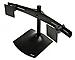 Ergotron DS100 Dual-Monitor Desk Stand, Horizontal (Black)