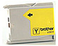 Brother LC51Y Inkjet Print Cartridge for Printers and Fax Machines- 400 Pages Yield - Yellow