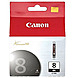Canon 0620B002 CLI-8BK Ink Cartridge for PIXMA iP4200, iP5200, iP5200R and iP6600D Printers - Black - 1-Pack