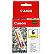 Canon 4708A003 BCI-6Y Inkjet Ink Tank - 280 Pages - Yellow - 1 Pack