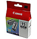 Canon 8190A003 BCI-15 Inkjet Ink Tank - Black - 1 Pack