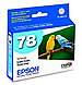 Epson T078520 78 Inkjet Print Cartridge - Light Cyan - 1 Pack