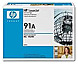 HP 92291A Laser Toner Cartridge - Black - 10,250 Pages Yield - 1 Pack
