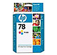 HP C6578DN 78 Inkjet Print Cartridge for Deskjet 930C; 950C - Yellow, Cyan, Magenta - 450 Pages Yield - 1 Pack