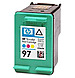HP C9363WN 97 Inkjet Print Cartridge - 450 Page Yield - Cyan, Magenta, Yellow - 1 Pack
