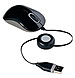 Targus AMU75US Compact Wired Optical Mouse - USB - Black/Gray