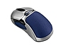 HD Precision 98904 Cordless Mouse - 5-Button - 1 x Wheel - RF - Wireless - Optical - Silver/Blue