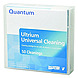 Quantum MR-LUCQN-01 LTO Ultrium Cleaning Cartridge - 1-Pack - Black