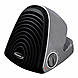Soleus HC1-15-12 Compact Ceramic Power Heater - 1500 Watts - Black, Gray