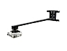 Peerless Industries PSTK-2955-W Universal 29 to 49 inches  Short Throw Projector Arm - White