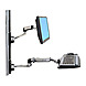 Ergotron LX 45-247-026 Wall Mount for 24-inch LCD, Keyboard, CPU