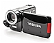 Toshiba Camileo PA3791U-1CAM H30 Full HD Camcorder - 5x Optical/4x Digital Zoom - 3-inch LCD Display - Silver/Black