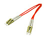 Cables To Go 13511 49 Feet Fiber Optic Duplex Patch Cable - Multi-mode - 62.5/125 micron - Multi Fiber - 2 x LC Male/Male - Orange