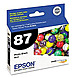 Epson T087120 87 Inkjet Print Cartridge - Pigmented Photo Black - 1 Pack