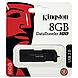 Kingston DataTraveler 100 G2 DT100G2/8GBZ 8 GB External Flash Drive - USB 2.0 - Black