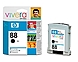 HP C9385AN140 88 Inkjet Ink Cartridge for Officejet Pro K550 Series Color Printer - 820 Pages - Black