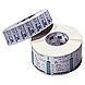 Zebra PolyPro 3000T 18929 4 x 25 inches Label for 2746e, R2844-Z, TLP 2844 and TLP 3844-Z - 900/Roll - 4/Case - White