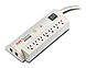APC SurgeArrest PER7T 7-Outlet External Surge Suppressor - NEMA 5-15P - Beige