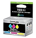 Lexmark 14N1807 150XL Ink Cartridge for Pro715, Pro915 Printers - 800 Pages - 3-Pack - Magenta