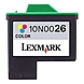 Lexmark 10N0026 No. 26 Standard Yield High Resolution Color Ink Cartridge for Z13, Z23, Z25, Z33, Z35, Z615 Printers - Cyan, Magenta, Yellow