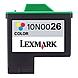 Lexmark 10N0026 No. 26 Standard Yield High Resolution Color Ink Cartridge for Z13, Z23, Z25, Z33, Z35, Z615 Printers - Cyan, Magenta, Yellow