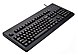 Cherry G80-3000 USB Connector and PS/2 Adapter Keyboard - Black