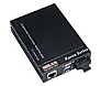 Transition Networks Raven MILRC3000 MIL-RC3113-30NA Media Converter - RJ-45/SC Single Mode - External - 100 Mbps