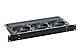 Black Box RM075-220V 220 V Horizontal Rackmount Fan Tray