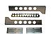 Rackmount Solutions - Rack rail kit - 3 U - 19-inches