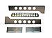 Rackmount Solutions - Rack rail kit - 3 U - 19-inches