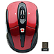 Gear Head MPT3200RED-CP10 RF Optical Wireless Mouse - USB - Tilt Wheel - Red/Black
