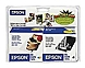 Epson T026201 Inkjet Ink Cartridge for Epson 820, 925 Printers - 2-Pack - Black, Cyan, Magenta, Yellow