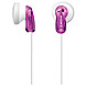 Sony 02724281514 MDR-E9LP/VLT Fashion Earbud Headphones - Binaural - Stereo - Violet