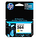 HP CB320WN140 564 Inkjet Print Cartridge for Deskjet D5445, D5460 Printers - 300 Pages Yield at 5% Coverage - Yellow