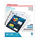 Office Depot ODSP14 Heavyweight Sheet Protectors - 8.5 x 11 inches - 25 Pack - Clear