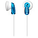 Sony 027242815131 MDRE9LP/BLU Fashion Earbud Headphones - Binaural - Stereo - Blue