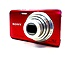 Sony Cyber-shot DSC-W650/R 16.1 Megapixels Digital Camera - 5x Optical Zoom - 3-inch LCD Display - Red